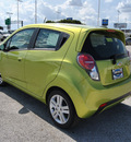 chevrolet spark 2013 lt  green hatchback ls auto gasoline 4 cylinders front wheel drive automatic 75067