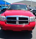 dodge dakota 2007 red pickup truck slt flex fuel 8 cylinders rear wheel drive automatic 76234