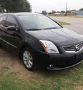 nissan sentra 2010 black sedan 2 0 sl gasoline 4 cylinders front wheel drive automatic 75067