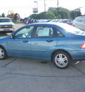 ford focus 2001 blue sedan se 4 cylinders automatic 55318