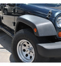jeep wrangler unlimited 2007 dk  blue suv x gasoline 6 cylinders rear wheel drive automatic 78233