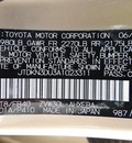 toyota prius 2010 tan v 4 cylinders automatic 78577