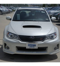 subaru impreza wrx 2012 white sedan sti gasoline 4 cylinders all whee drive standard 77090