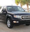 honda ridgeline 2010 black pickup truck rtl w navi gasoline 6 cylinders 4 wheel drive automatic with overdrive 77074