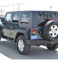 jeep wrangler unlimited 2007 dk  blue suv x gasoline 6 cylinders 4 wheel drive 6 speed manual 76801