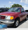 ford f 150 heritage 2004 red pickup truck xl gasoline 6 cylinders rear wheel drive automatic 75062