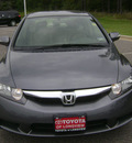 honda civic 2010 dk  gray sedan hybrid w navi hybrid 4 cylinders front wheel drive automatic 75604