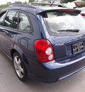 mazda protege5 2003 blue hatchback gasoline 4 cylinders dohc front wheel drive manual 77375