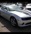 chevrolet camaro 2011 silver coupe ss gasoline 8 cylinders rear wheel drive automatic 77532