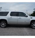 cadillac escalade esv 2011 silver suv premium flex fuel 8 cylinders rear wheel drive 6 speed automatic 77002