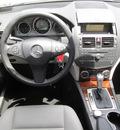mercedes benz c class 2009 silver sedan c350 sport gasoline 6 cylinders rear wheel drive shiftable automatic 77074