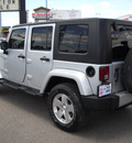 jeep wrangler unlimited 2010 silver suv sahara gasoline 6 cylinders 4 wheel drive automatic 79925
