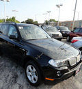 bmw x3 2007 black suv awd 6 cylinders automatic with overdrive 60546