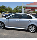 mitsubishi lancer 2012 silver sedan gt gasoline 4 cylinders front wheel drive automatic 76903