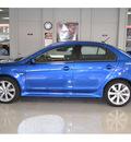 mitsubishi lancer 2012 blue sedan ralliart gasoline 4 cylinders all whee drive automatic 76903