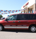 ford windstar 2000 dk  red van lx gasoline v6 front wheel drive automatic with overdrive 80229