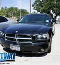 dodge charger 2006 black sedan rt gasoline 8 cylinders rear wheel drive automatic 75062