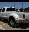 ford f 350 super duty 2011 white king ranch biodiesel 8 cylinders 4 wheel drive shiftable automatic 75041