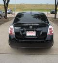 nissan sentra 2009 black sedan gasoline 4 cylinders front wheel drive automatic 76116