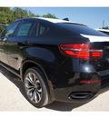 bmw x6 2013 black suv xdrive50i gasoline 8 cylinders all whee drive automatic 78729