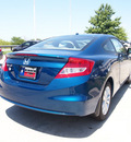 honda civic 2012 blue coupe ex w navi gasoline 4 cylinders front wheel drive automatic 75034