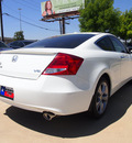 honda accord 2012 white coupe ex l v6 gasoline 6 cylinders front wheel drive automatic 75034