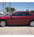 ford fusion 2006 maroon sedan i4 se gasoline 4 cylinders front wheel drive automatic 78666
