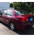 honda civic 2004 radiant ruby sedan ex gasoline 4 cylinders front wheel drive 5 speed manual 07702