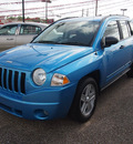 jeep compass 2009 lt  blue suv sport gasoline 4 cylinders front wheel drive automatic 77301