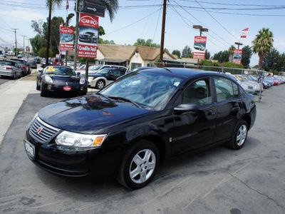 saturn ion 2006 black sedan 2 gasoline 4 cylinders front wheel drive automatic 92882