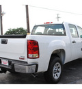 gmc sierra 1500 2012 white work truck flex fuel 8 cylinders 2 wheel drive automatic with overdrive 77074
