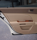 cadillac sts 2008 white sedan v6 gasoline 6 cylinders rear wheel drive shiftable automatic 77074