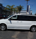 oldsmobile silhouette 1998 white van gls gasoline 6 cylinders front wheel drive automatic 94063