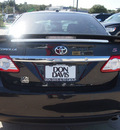 toyota corolla 2012 black sedan s gasoline 4 cylinders front wheel drive automatic 76011