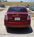 nissan sentra 2008 dk  red sedan 2 0 s gasoline 4 cylinders front wheel drive automatic 76116