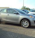 mazda mazda3 2012 silver hatchback grand touring w sunroof gasoline 4 cylinders front wheel drive automatic 32901