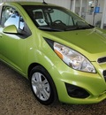 chevrolet spark 2013 lt  green hatchback ls auto gasoline 4 cylinders front wheel drive automatic 76401