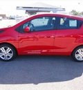 chevrolet spark 2013 red hatchback ls auto gasoline 4 cylinders front wheel drive automatic 76401