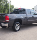gmc sierra 1500 2011 dk  gray pickup truck sl 8 cylinders automatic with overdrive 77802
