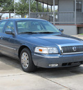 mercury grand marquis 2007 blue sedan gs flex fuel 8 cylinders rear wheel drive automatic with overdrive 77074