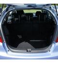 honda fit 2009 tidewater blue hatchback sport gasoline 4 cylinders front wheel drive automatic 07712