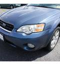 subaru outback 2006 atlantic blue wagon 2 5i gasoline 4 cylinders all whee drive automatic 07712