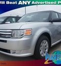 ford flex 2012 silver wagon se gasoline 6 cylinders front wheel drive 6 speed automatic 77338