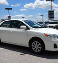 toyota corolla 2011 white sedan le gasoline 4 cylinders front wheel drive automatic 76011