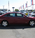 chevrolet impala 2008 red sedan ss gasoline 8 cylinders front wheel drive automatic 79925