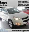 chevrolet traverse 2012 white suv 2lt gasoline 6 cylinders all whee drive 6 speed automatic 55391