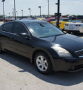 nissan altima 2007 black sedan 2 5 sl gasoline 4 cylinders front wheel drive automatic 76087