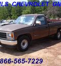chevrolet c k 2500 series 1988 brown pickup truck c2500 cheyenne gasoline v8 rear wheel drive automatic 75672