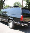 chevrolet suburban 1996 black suv k1500 gasoline v8 4 wheel drive automatic 80110
