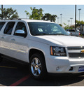 chevrolet suburban 2012 white suv ltz 1500 flex fuel 8 cylinders 4 wheel drive automatic 78216